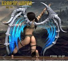 Dragon Wings, by Summoner by FantasiesRealmMarket