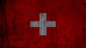 Grunge Switzerland Flag by K567