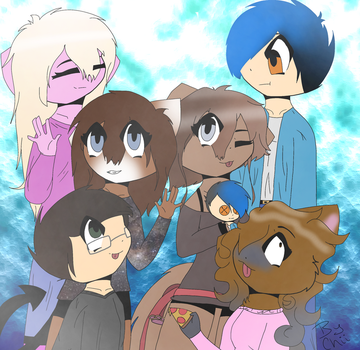 .:for my bffs:. by AphTheFoxDrawer1