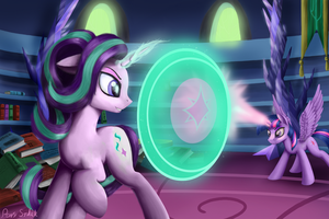 Magic Duel by Pony-Stark