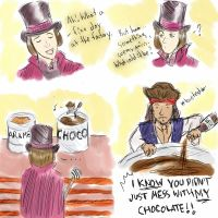 Wonka Meets Sparrow by An-die-Freude