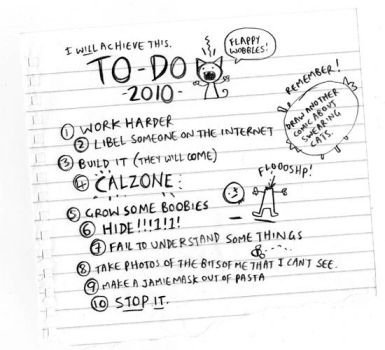 To Do in 2010 by icanseeyourmonkey