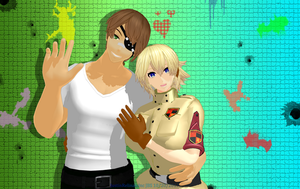 Pip Seras MMD Wallpaper Colorful Worlds FREE by JustinRelinaleInc