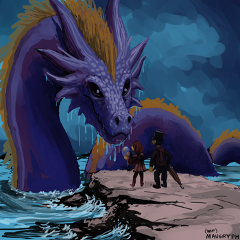 Ten Songs Painting (Wip) (D22) by maugryph