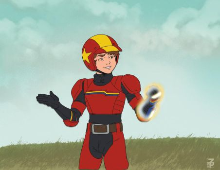 Saturday Morning Turbo Kid by dyemooch