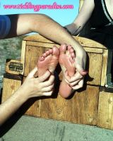 Gothic Soles Tickled 22 by jason9800player2