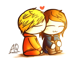 (AT)Kenny and Liz by aq1218
