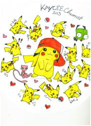 Pika overload by kyohattress34654