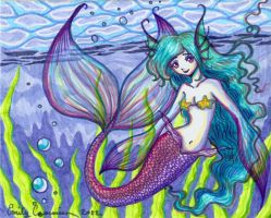 Lovely Little Mermaid by EmilyCammisa