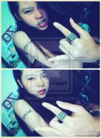 Yo!The tatoo was painted by myself by Killer-29