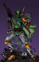 Boba Fett's got hook for you - color by ZethKeeper