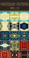 Photoshop Patterns - Pack 19 by punksafetypin