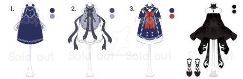 Adopt Outfits #1 (CLOSE) by berinne