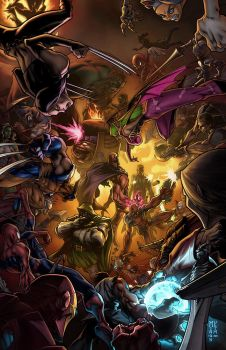 Marvel vs Capcom 3 Art Contest by MinohKim