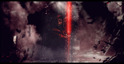 Darth Yoda - Animated - 3D Effect by IAMFX