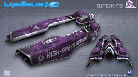 Qirex - WipEout HD - PS3 by nocomplys