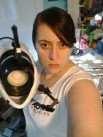 Chell Cosplay WIP by Spiegeln