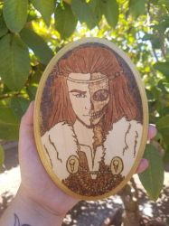 Hel Wood Icon by Britannica-Graced