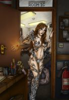 Witchblade - Authority by faceaway
