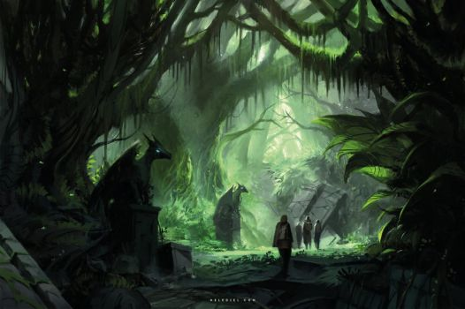 Discovery in the Jungle by Nele-Diel