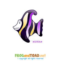 Fish Poisson FROGandTOAD by FROG-and-TOAD