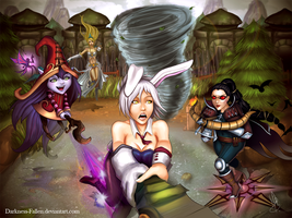 Tactical Decisions Summoner by Mini-Tigress