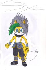 Phoenix in his traditional clan clothes by Silverxtreme56