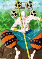 Enel - One Piece by maynardbrian