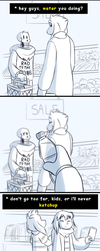 Undertale - Taking your Sans out on Errands by TC-96