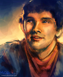 Merlin by chanso