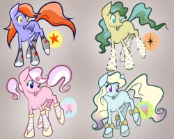 Pony Adoptables Page #1 by EchoSkylight