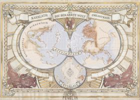 Imperial World Map sketch by Feivelyn