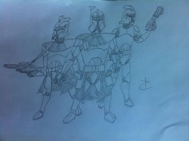 Clone Troopers by DarthDizzle
