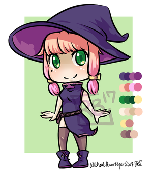Halloween Adopt - Witch [Open] by Red-Baby