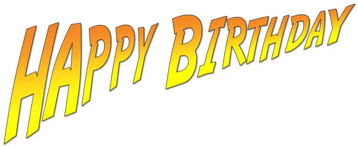 HAPPY BIRTHDAY Indiana Jones Font by ENT2PRI9SE