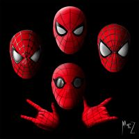 Spider-Men by MIKELopez