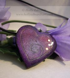 Heart Pendant No.1 by Ariana-Blossom