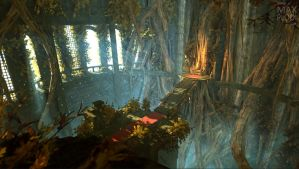 Overgrown Throne Room by Rage1793
