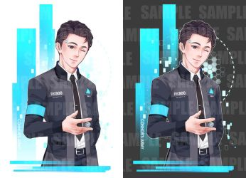 :D:BH: Connor for t-shirt by PrinceOfRedroses