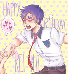 Happy Birthday Rei-chan by pearsfears