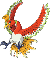 Ho-Oh v.2 by Xous54