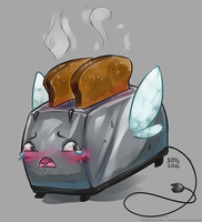 hot toaster pussy by gerbilfat