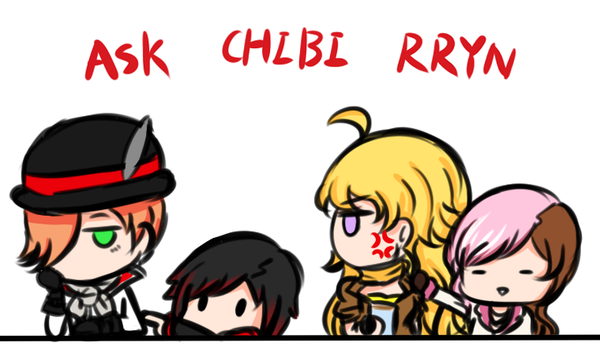 ASK CHIBI RRYN by doumsnow