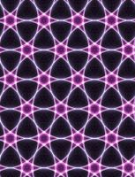 Hexagonal Neon Quilt by Aexion