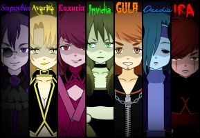 The Seven Deadly Sins by GaygerTheLame