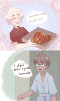 pizza time? by kieau