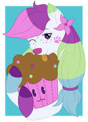 C Sprinkles Muffin Plushie YCH by Beadedwolf22