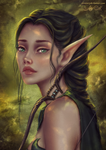 Elven Ranger by Alrooney