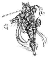 Magical Ninja Girl. by Acedes