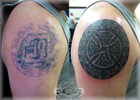 Celtic Cover Up by state-of-art-tattoo